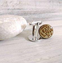 """Šperky - Manžetové gombíky - mini (""""Láska"""" - živicové) - 8316952_"""
