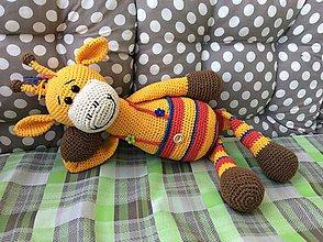 Hračky - Žirafka v nohavičkách - 8317668_