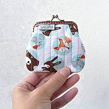 Peňaženky - Peňaženka mini Zvieratká z lesa - 8318512_