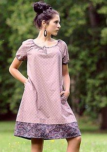 Šaty - Šaty - světle bordó - 8316085_