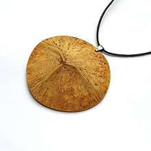 Náhrdelníky - Kokosový poklop - 8318178_