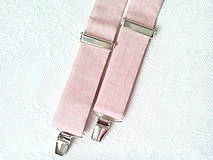 Doplnky - Vintage pánske traky (staroružové) - 8320444_