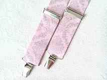 Doplnky - Kráľovské vintage pánske traky - 8321260_