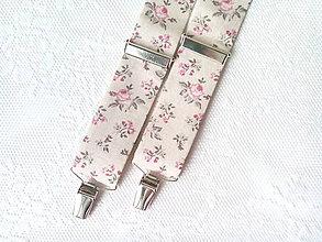 Doplnky - Romantické vintage pánske traky - 8321433_