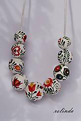 Náhrdelníky - Slovácký náhrdelník - 8318939_