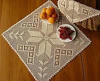 Úžitkový textil - Dečka natur veľká - 8318971_