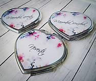 Darčeky pre svadobčanov - Svadobné zrkadielko - 8321162_