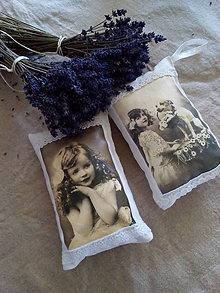 Dekorácie - Voňavý vankúšik Vintage - 8320887_