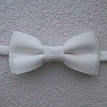 Doplnky - svadobný maslový motýlik č.2 - 8318679_
