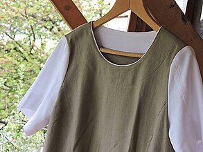 Šaty - Šaty pre pohodu - khaki - 8319351_
