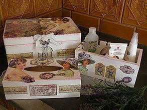 Krabičky - Originální sada vintage Provance - 8319631_