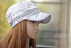 Detské čiapky - Letná šiltovka Deja vu - 8318914_