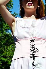 Šaty - Dlhé bavlnené šaty s volánom - 8321059_