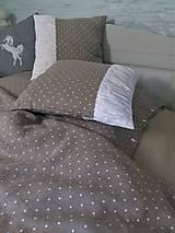 Úžitkový textil - Ľanové posteľné obliečky Dots Everywhere - 8320715_