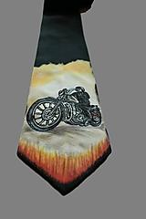 Hodvábna kravata - Pre motorkárov I.