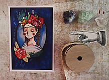 Grafika - Dušička skoro ako Frida - 8323745_