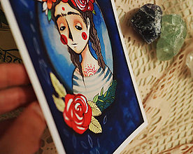 Grafika - Dušička skoro ako Frida - 8323744_