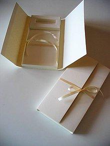 Krabičky - krabička na fotky a Usb-kľúč - autorský model - 8322649_