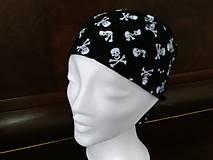 Čiapky - Pirátska čiapka - 8323282_