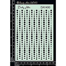 Pomôcky/Nástroje - Dusty Attic - Dots (šablóna s bodkovaným vzorom) - 8321728_