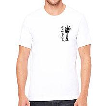 Oblečenie - Pánske tričko ŽIRAFA - 8322578_