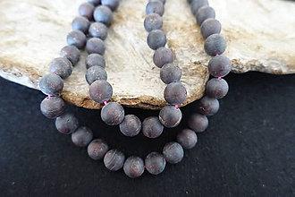 Minerály - Granát matný 10mm - 8323463_