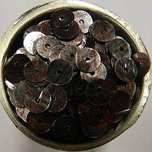 Iný materiál - Flitre hladké hnedé striekané 6mm - 8322860_