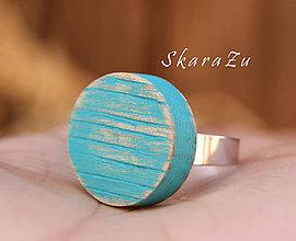 Prstene - Prstienok z dreva - 8324010_