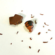 Kľúčenky - Kávový cukrík - 8321798_
