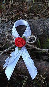 Pierka - čipkované - svadobné pierka - 8324326_