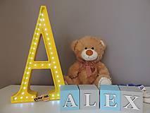 Svietidlá a sviečky - LED lampa s kockami - 8324683_
