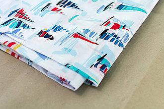 Sukne - Zavinovací sukně Akvarelové plachetnice - 8325463_