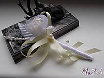 Svadobné pierko pre ženícha,rodičov, svedka....