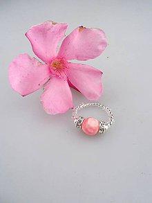 Prstene - Iránsky jadeit prsteň flexibilný - 8326818_