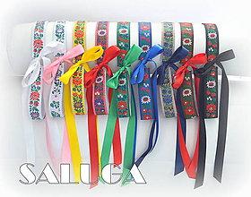 Opasky - Dámsky folklórny opasok - rôzne farby - 8325151_