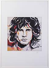 Grafika - Print A3 na papieri A2 z originál obrazu  Abstraktný portrét X. - 8326546_