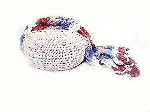 Textil - Háčkovaná deka na želanie - 8325100_