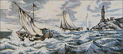 Návody a literatúra - K021 Búrka na mori - 8326646_