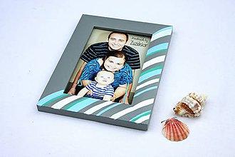 Rámiky - Fotorámik  farby mora v obývačke - 8324826_