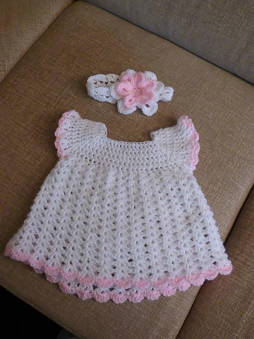 baa69b83e Hačkovane detske šaty / Safodesign - SAShE.sk - Handmade Detské ...