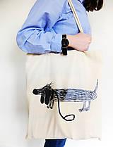 Nákupné tašky - Lujza - taška s príbehom - 8324810_