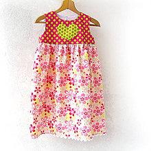 Detské oblečenie - Detské šaty Sladké ružové - 98 - 8325472_