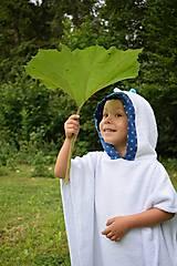 Detské doplnky - Bambusové Pončo s čírom - 8325634_