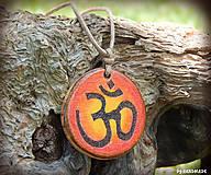 Náhrdelníky - Mantra OM - 8327516_