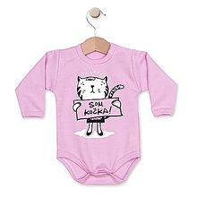 Detské oblečenie - Som kočka! - 8329539_
