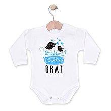 Detské oblečenie - Budem veľký bráško - 8329596_