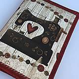 - Šicí stroj - obal na knihu - 8329251_