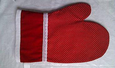 Úžitkový textil - Rukavica kuchynská - 8328769_