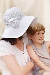 Čiapky - Letný klobúk Madeira exclusive - 8327848_