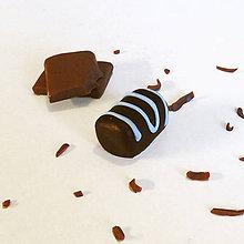 Kľúčenky - Čokoládový podlhovastý bonbon - 8329449_